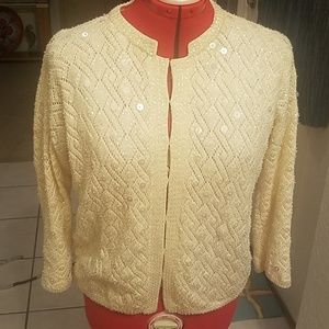 Sequin sweater Jeri Jo